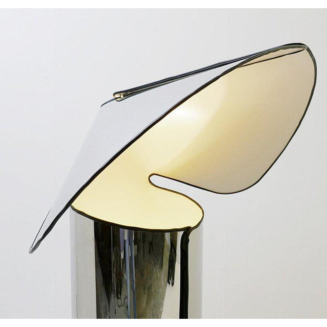 """Mid-Century Modern """"Chiara"""" Floor Lamp by Mario Bellini for Flos, Italy For Sale - Image 3 of 6"""
