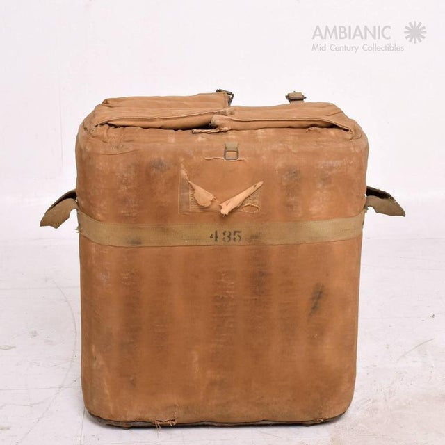 1940s Industrial Military Ice Chest For Sale - Image 5 of 10