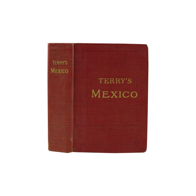 Terry's Guide to Mexico with Maps, 1909 - Image 1 of 5