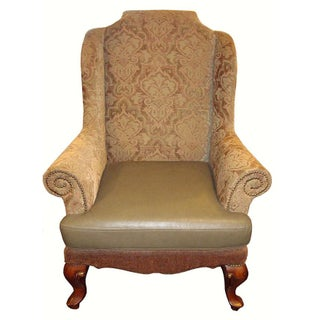 European Wingback Chair For Sale