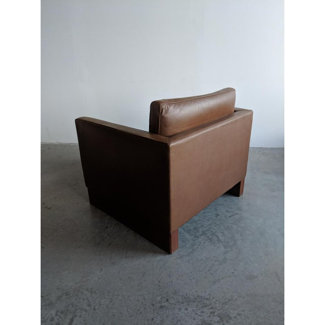 Vintage Mid Century Mies Van Der Rohe Lounge Chair For Sale In Providence - Image 6 of 9