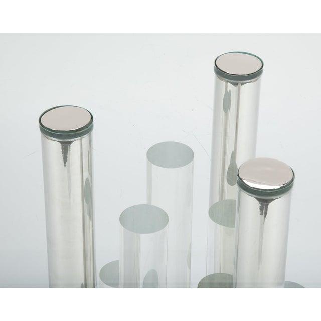 Transparent Charles Hollis Jones Skyscraper Table For Sale - Image 8 of 12