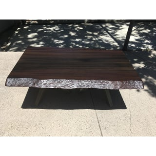 Castelle Park Place Altra Outdoor Rectangular Live Edge Mahogany Jasmine Table Preview