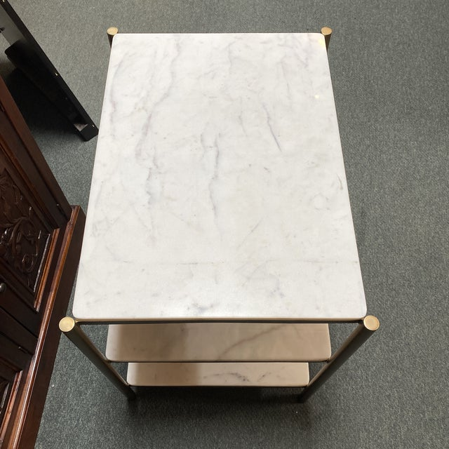 New Alder & Tweed Hollywood End Table For Sale - Image 10 of 11
