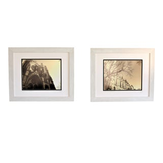 Framed Architectural Photography, Limited Editions by C. Damien Fox, a Pair. For Sale