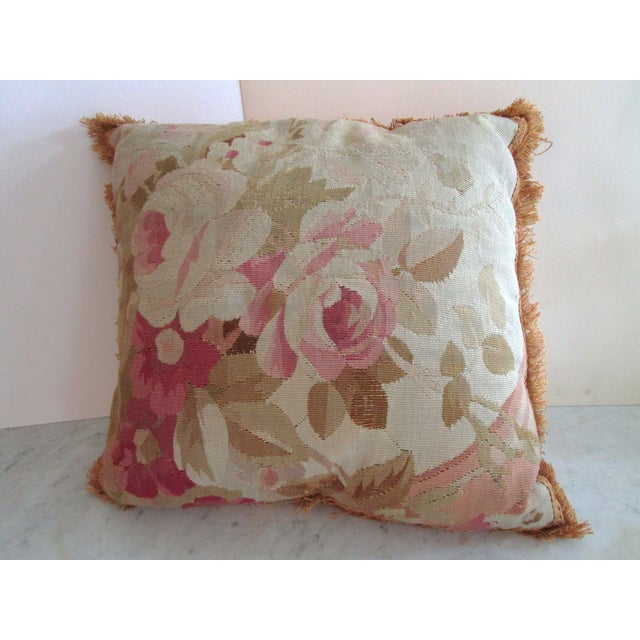 Aubusson Pillows - Pair - Image 5 of 6