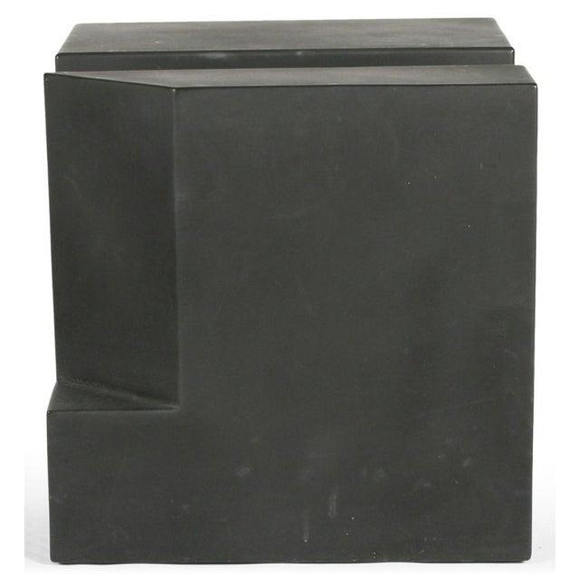 """Black Cube"" Aluminum Sculpture by Alfredo Halegua - Image 6 of 10"