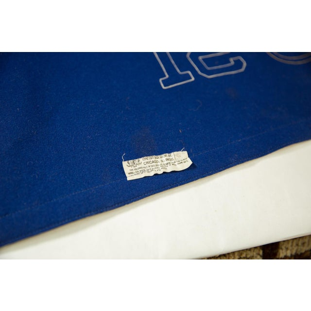 Traditional Vintage Yale 1951 Felt Banner For Sale - Image 3 of 7