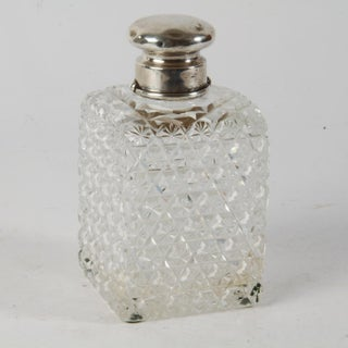 1886 Cut Glass & Sterling Silver Perfume Bottle Preview