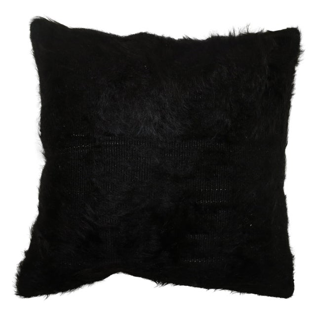 Vintage Turkish Mohair Pillow For Sale