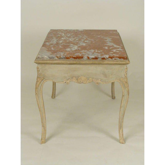 Louis XV Louis XV Painted Occasional Table For Sale - Image 3 of 9