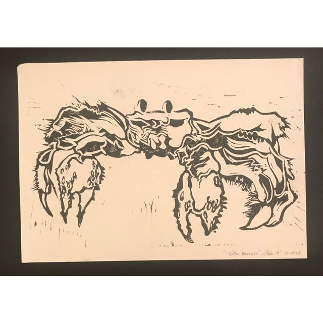 Contemporary 2014 Outer Banksy Linocut Print For Sale - Image 3 of 3