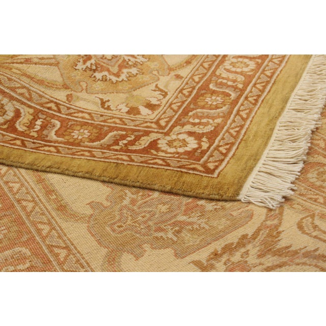 """Classic Hand-Knotted Rug, 9'0"""" X 12'0' For Sale - Image 4 of 6"""