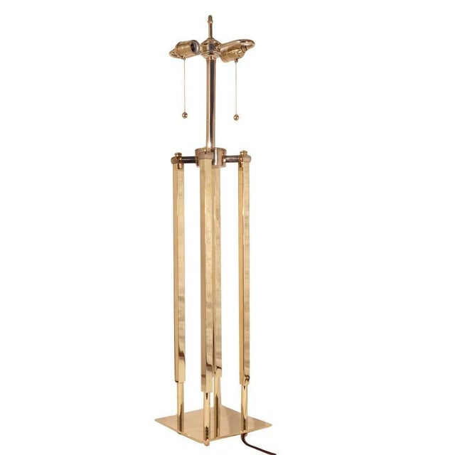 Pair of Stiffel Parzinger Style Lamps - Image 3 of 10