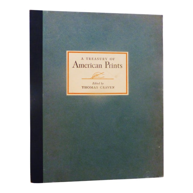 1939 Treasury of American Prints: Benton, Wood, Curry, Hopper For Sale