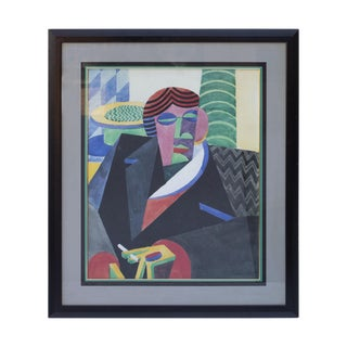 Framed Cubist / Futurist Print by Fortunato Depero For Sale