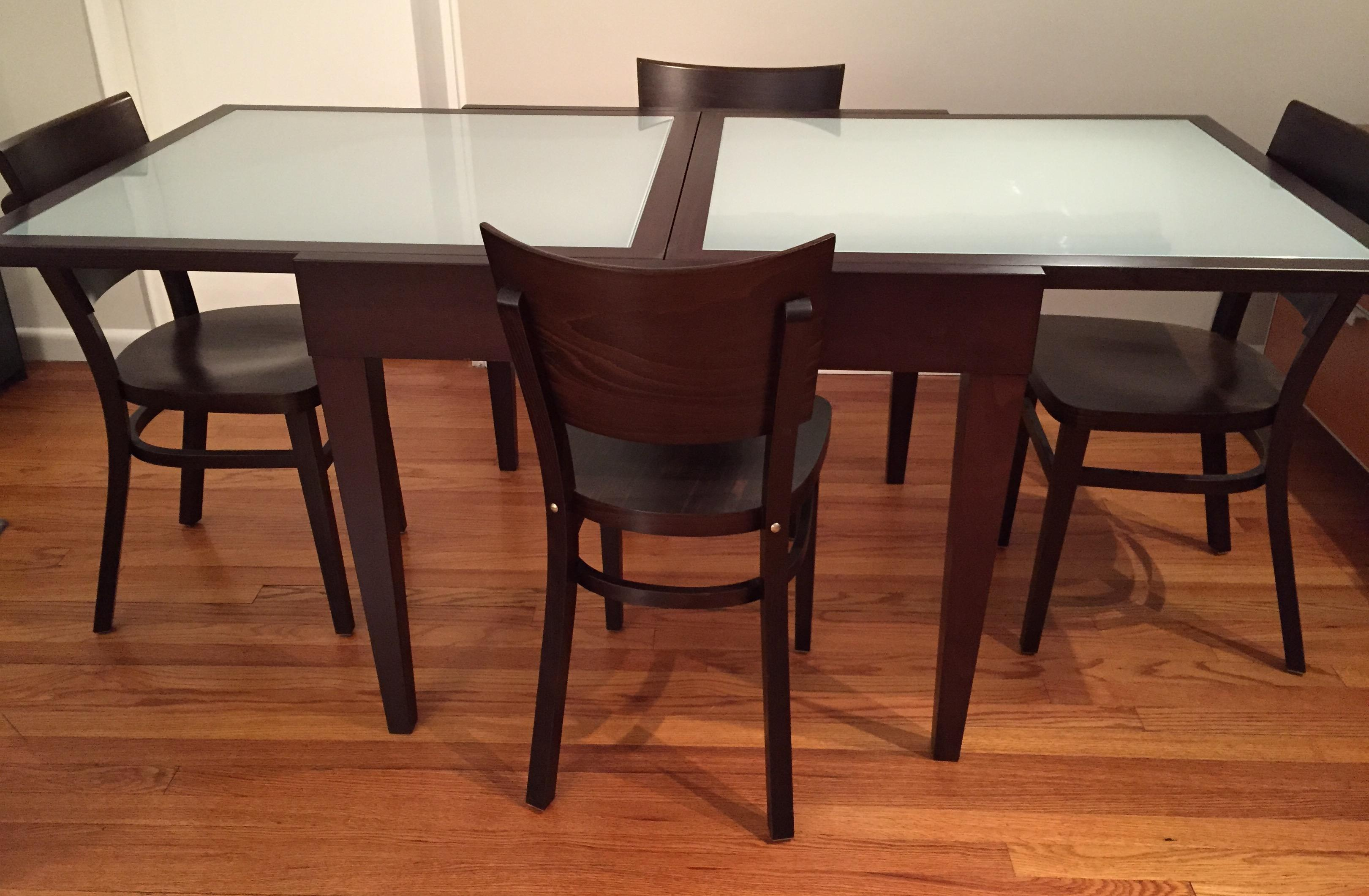 Design Within Reach Modern Dining Set Chairish