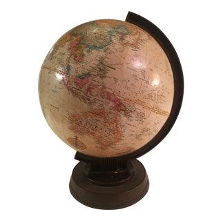 Mid-Century Replogle Spinning Globe