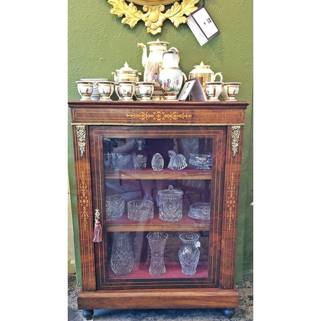 19c French Louis XVI Style Vitrine For Sale - Image 12 of 13