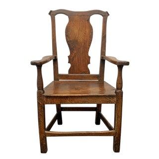 18th Century English Georgian Chair For Sale
