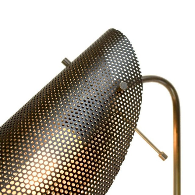 Mid-Century Modern Tulle Wall Lamp in Bronze and Black Enamel Mesh by Blueprint Lighting, 2019 For Sale - Image 3 of 6