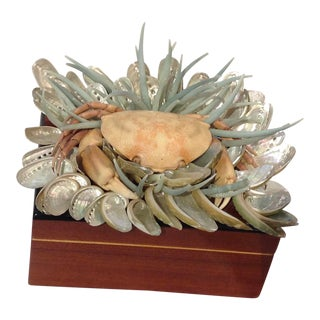 Custom Shelled Jewelry Box For Sale