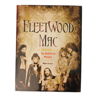 """2011 """"Fleetwood Mac the Definitive History"""" First Edition Art/Music Book For Sale"""