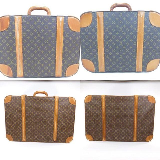 Authentic Vintage Louis Vuitton Suitcases - A Pair - Image 10 of 10