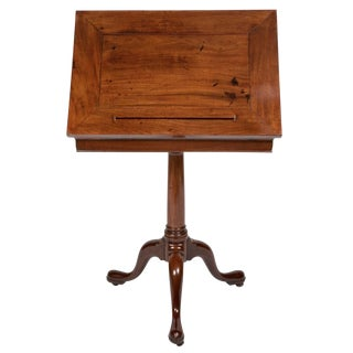 George III Mahogany Book Stand