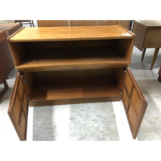 Vintage Mid Century Nathan Cabinet Preview