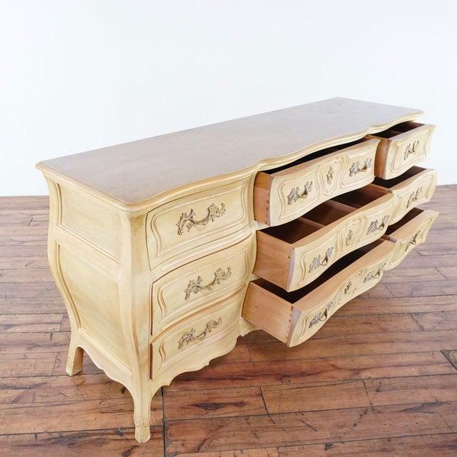 Henredon Henredon Tan Triple Dresser For Sale - Image 4 of 9