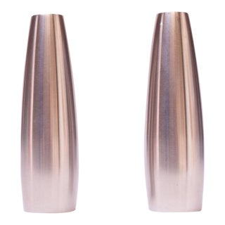 """Set of """"Odin"""" Stainless Steel Salt and Pepper Shakers by Jens Quistgaard for Dansk Designs For Sale"""