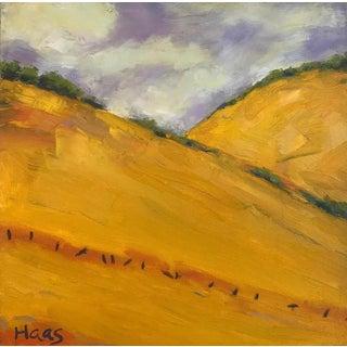 """Mt. Diablo Golden Splendor"" Plein Air California Landscape Painting For Sale"