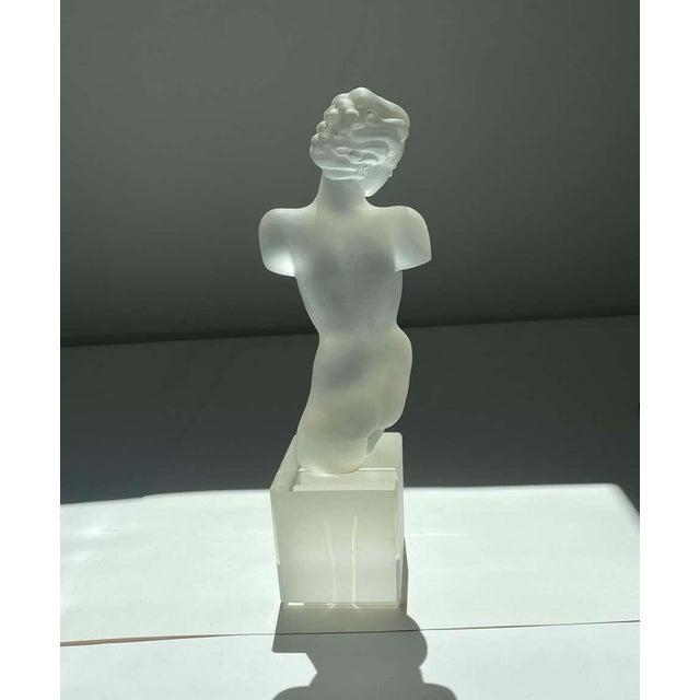 Art Deco Female Nude Torso by Eleon Von Rammel 1930s-1940s For Sale - Image 3 of 7