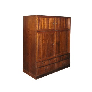 19th Century Small Japanese Tansu Cabinet For Sale