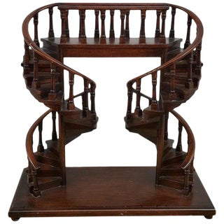 English Regency Style Architectural Staircase Model For Sale