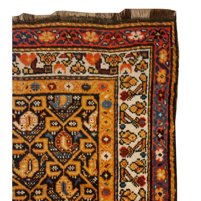 """1930s Early 20th Century Persian Lori Runner - 39"""" x 100"""" For Sale - Image 5 of 5"""