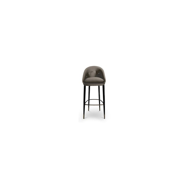 Not Yet Made - Made To Order Nessa Bar Stool From Covet Paris For Sale - Image 5 of 5