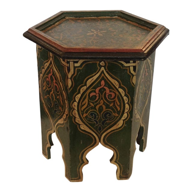 Petite Moroccan Tabouret For Sale