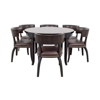 Ralph Lauren Clivedon Dining Set - 8 Pieces For Sale