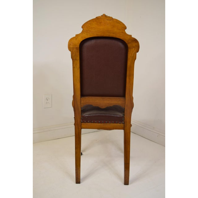 Mid 19th Century Mid 19th-Century Walnut Dining Chairs-Set of Six (6) For Sale - Image 5 of 12