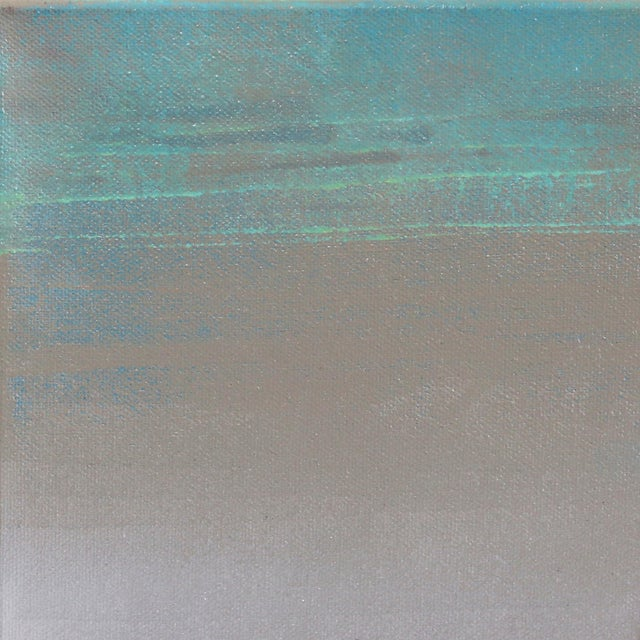 """Realism Original Beach Inspired Artwork by Kathleen Keifer """"Grey Ghost"""" For Sale - Image 3 of 8"""