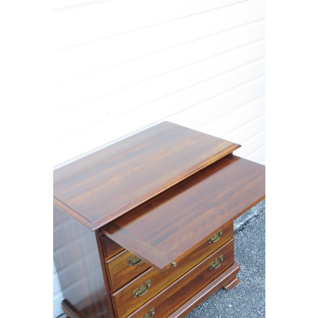 Brown Solid Cherry Small Dresser With Pullout Tray 2413 For Sale - Image 8 of 13