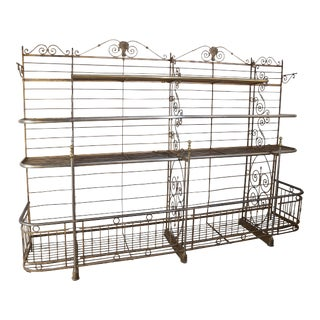 Antique French Bakers Rack 1 For Sale