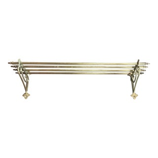 Vintage Train Luggage Rack