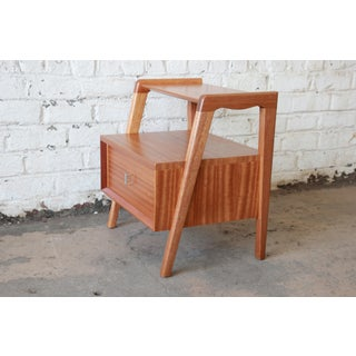 Paul Laszlo for Brown Saltman Mahogany Nightstand or Side Table Preview