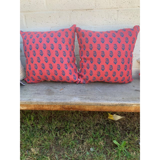 Early 21st Century Peter Dunham Pillow Covers - A Pair For Sale - Image 5 of 5