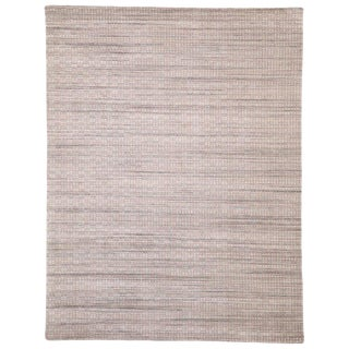 Contemporary Lavender Area Rug - 9′1″ × 11′11″ For Sale