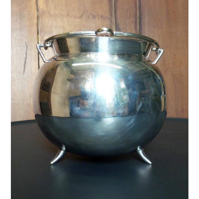Traditional Christopher Dresser Covered Sugar Bowl For Sale - Image 3 of 6