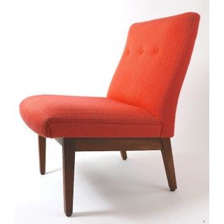 Armless Mid Century Chair by Gunlocke After Risom Preview